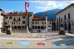Piazza Maggiore a Feltre