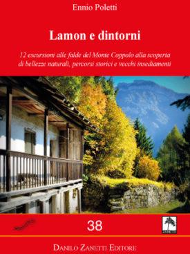 Monte Coppolo - Monte Totoga - Passo Broccon - Tesino - Val Senaiga - Cima Campo Carta dei sentieri - Wanderkarte a piedi e mountain bike. Mappa scala 1:30.000 Cartine Zanetti nr. 26