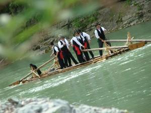 Zater sul fiume Piave. www.dbszanetti.it