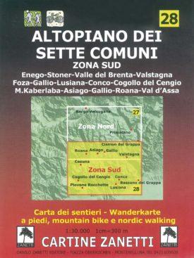 Enego, Stoner, Valle del Brenta, Valstagna, Foza, Gallio, Lusiana, Conco, Cogollo del Cengio, M. Kaberlaba, Asiago, Gallio, Roana, Val d'Assa