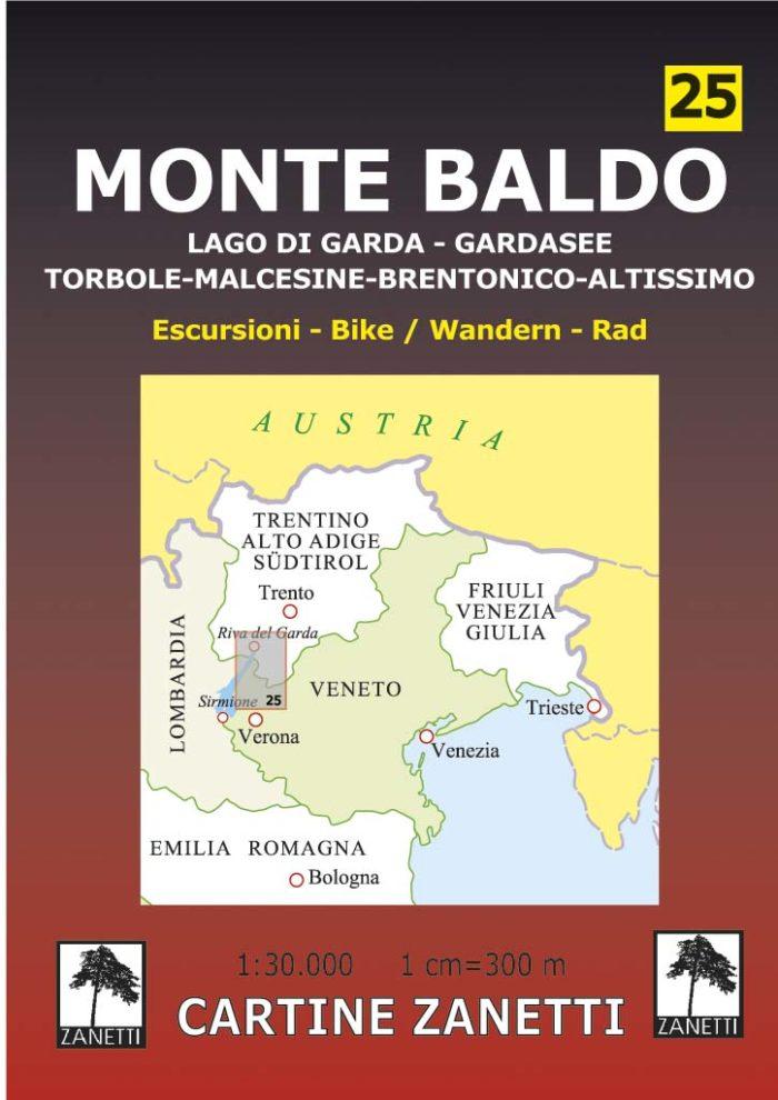Monte Baldo Lago di Garda - Gardasee Torbole - Malcesine - Brentonico - Altissimo.
