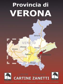 mappa cartina Verona