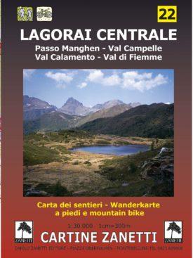 Lagorai centrale, passo Manghen, Val Campelle, Val Calamento, Val di Fiemme