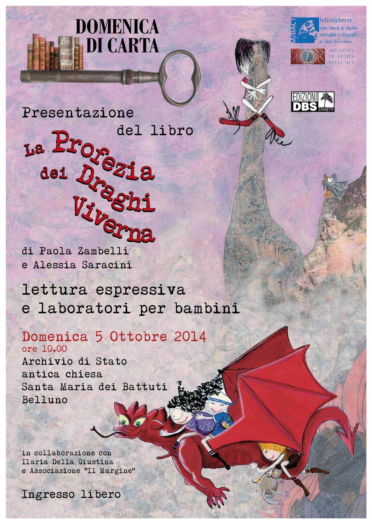 A Belluno arrivano i draghi con la Profezia delle Viverne!