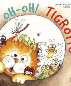 Libri per bambini: la storia di Tigrotto, gatto rosso e pasticcione. Libro adatto anche per lettori dislessici